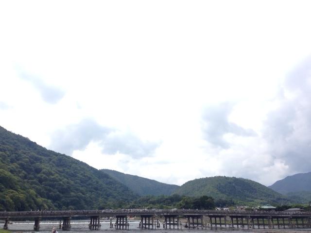 嵐山、橋、中学校教師、サイクリング、休日、リラックス、ストレス解消、方法、プライベート、運動