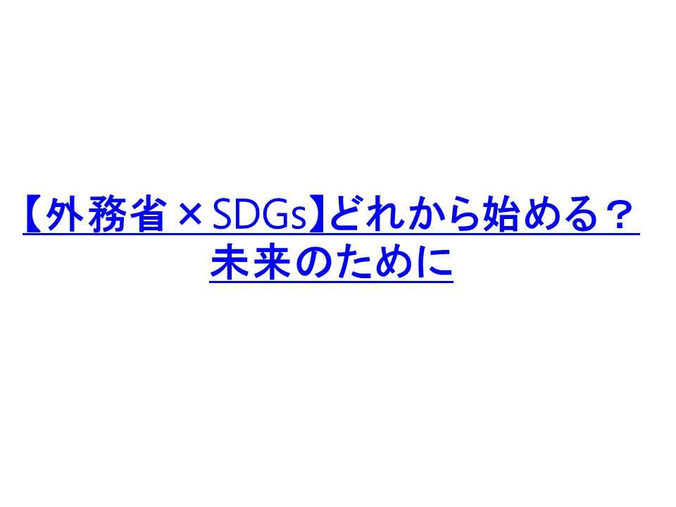 SDGS授業中学校